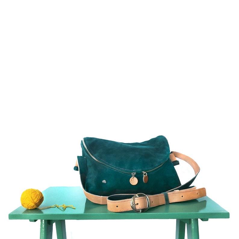 Zefiro Handbag   Leather handbags handmade image 0