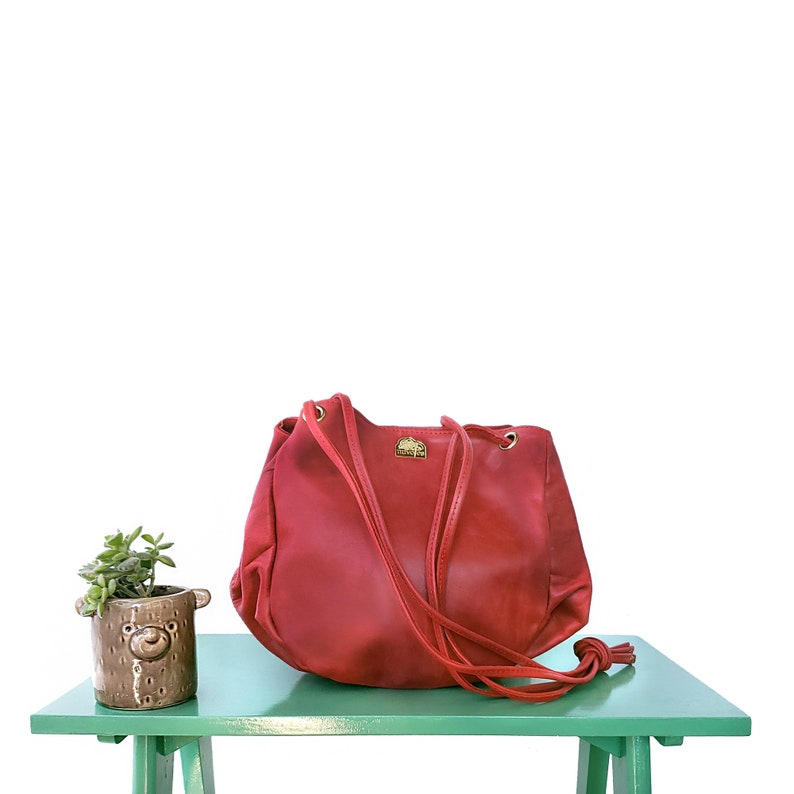 Lucinta Handbag   Leather handbags handmade image 0
