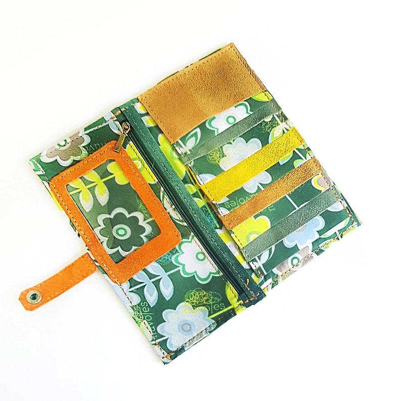 Por Fin Wallet Wallet leather handmade woman image 0