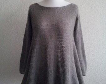 jeacara - Ajilo - Knit sweater - Swing - Wool