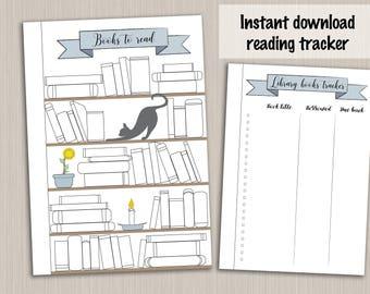 printable monthly habit tracker template for bullet journal etsy