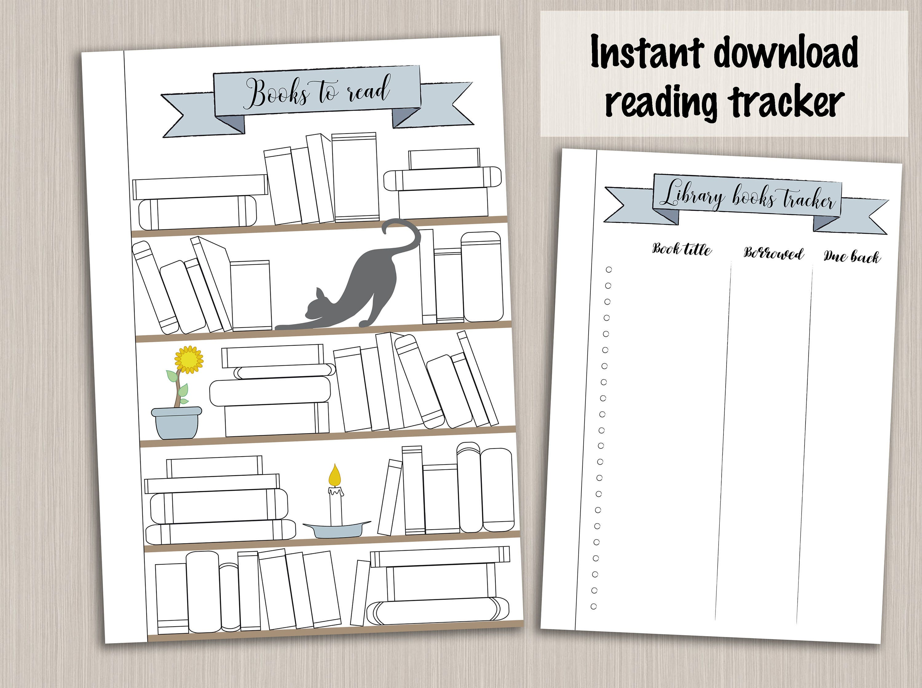 photo about Bullet Journal Books to Read Printable titled Bullet magazine template : looking at planner template studying log tracker - bujo bullet magazine webpages - bullet magazine printable increase
