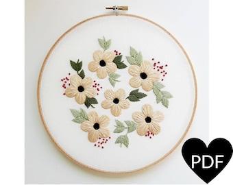 Embroidery Hoop Art Pdf Patterns By Cinderandhoney On Etsy