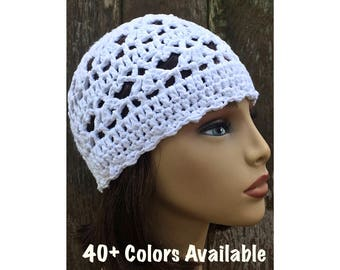 0013431a51d Lacy cotton beanie
