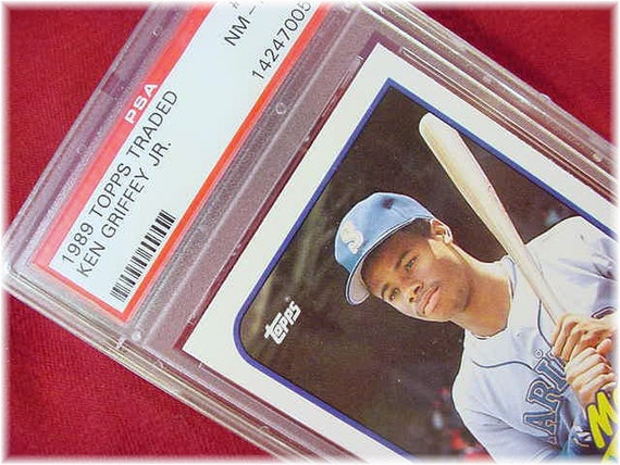 f2e0ccc5ad 1989 Topps Ken Griffey Jr Rookie Baseball Card Authentic   Etsy
