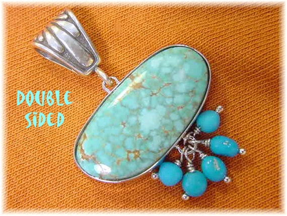 Battle Mountain & Kingman Turquoise Sterling Silve