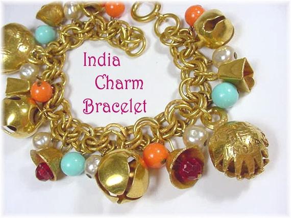 Ethnic Handmade Brass Mother of Pearl Trinket Box Handicraft Souvenir Jewelry