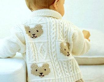 c8e339ff6 Baby aran cardigan