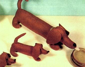 sausage dog pattern etsy