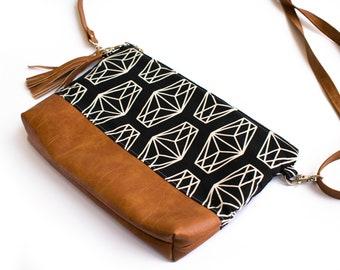 Small Crossbody Bag, Small Bag, Casual Bag, Crossbody Purse, Vegan Purse, Everyday Bag