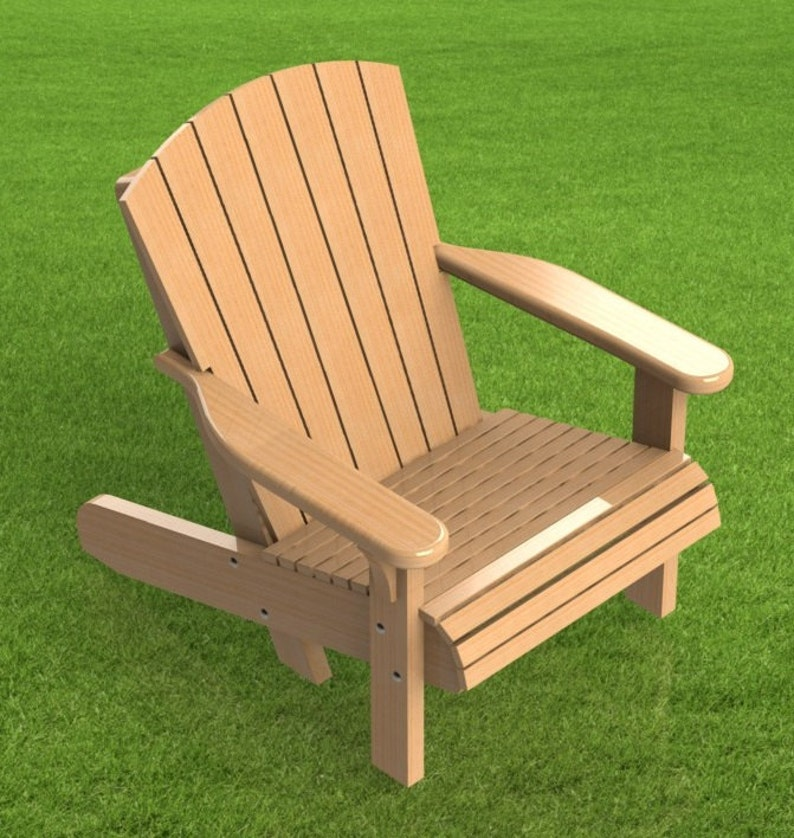 Tremendous Adirondack Style Lawn Chair Building Plans Ncnpc Chair Design For Home Ncnpcorg
