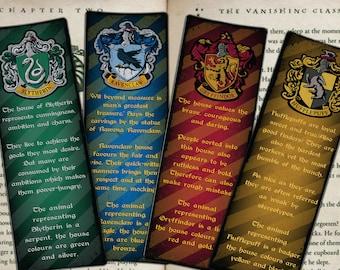 Harry Potter Bookmark Etsy