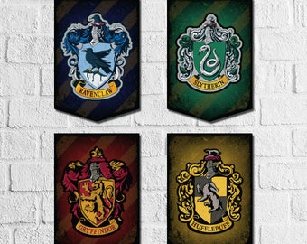 picture about Harry Potter House Crests Printable referred to as Printable potter artwork Etsy