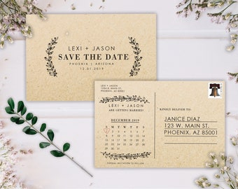 template for save the date postcards