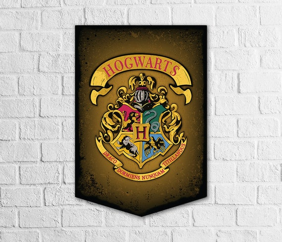 Harry Potter Birthday Party Banner