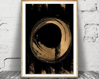 Abstract Art, Wall Art Print, Galaxy Modern Minimalist, Geometrical, Contemporary Large Printable Poster, Digital Download, Home Decor