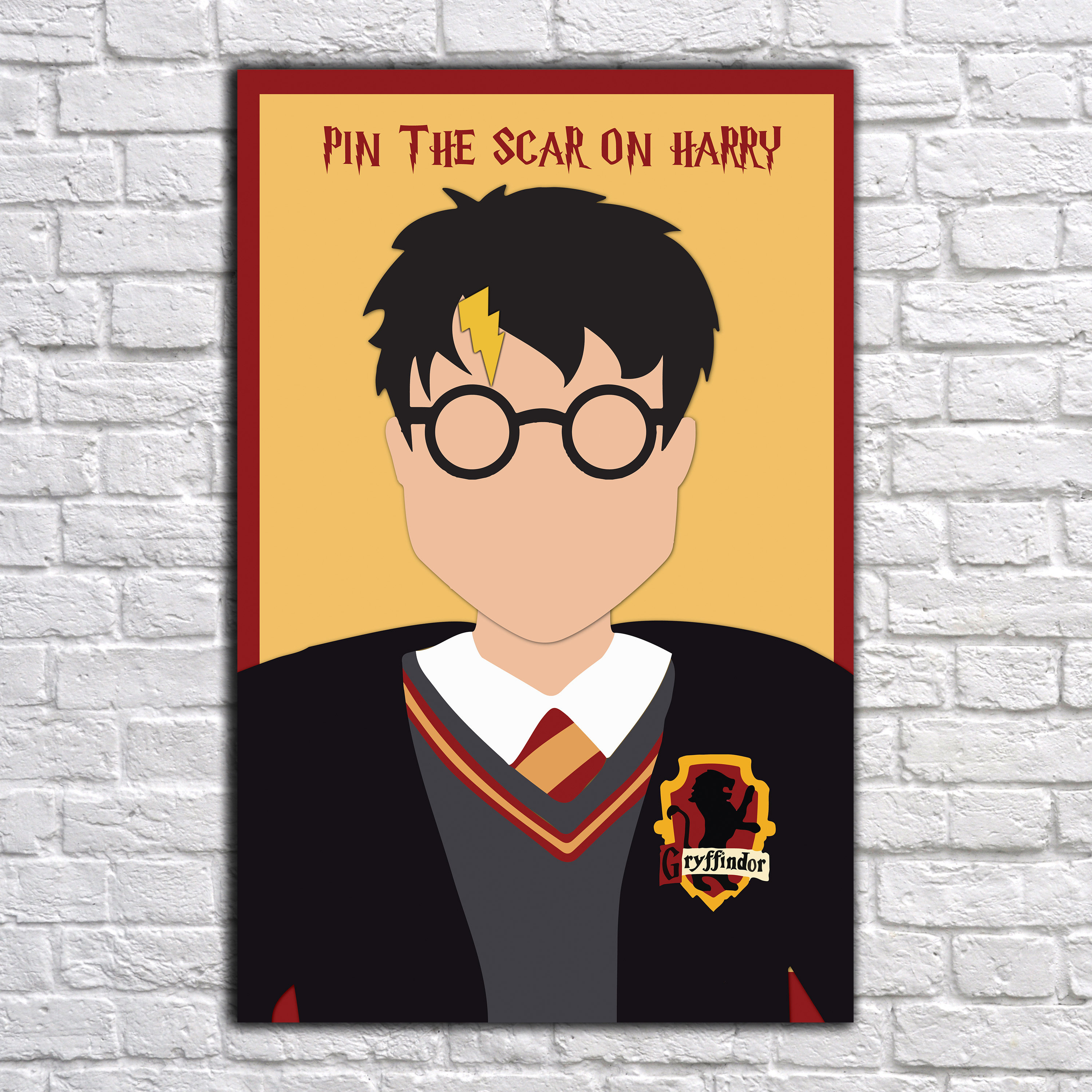Harry Potter Games Pin the Scar on Harry Potter Harry Potter