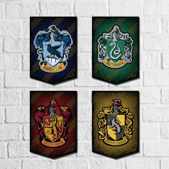 Harry Potter Banner Printable Wall Art Hogwarts