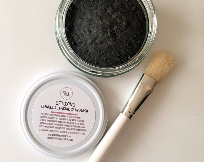 Featured listing image: ORGANIC Detoxing Activated Charcoal Face mask 50g