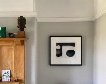 Contemporary Etching Print - 'Interior I' - Original Hand Pulled Print