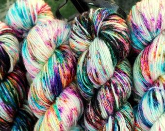 NEW!!! - King's Chaos - Hand Painted Superwash Merino Yarn - DK