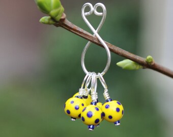 Polka Dot Sky - Stitch Markers - Knitting or Crochet
