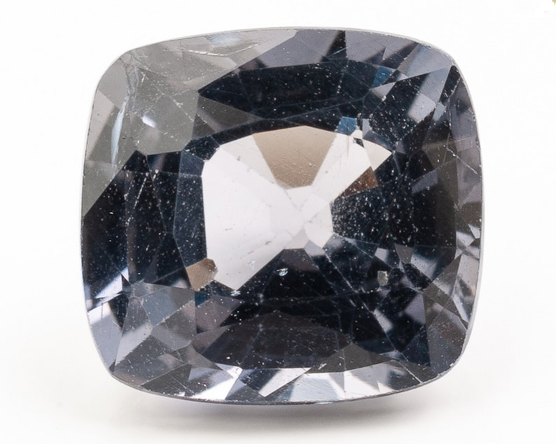 Cushion Cut Slightly Violet Blue Spinel  6.49 x 6.03 x 3.86 image 0