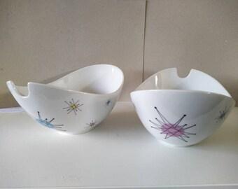 Salade bowl in starburst design