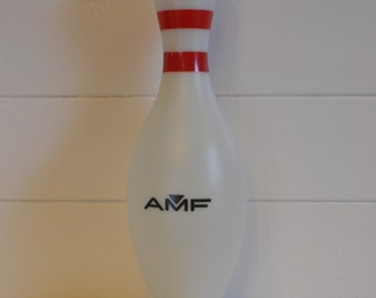 Vintage  Ten pin bowl bowling pin money box AMF