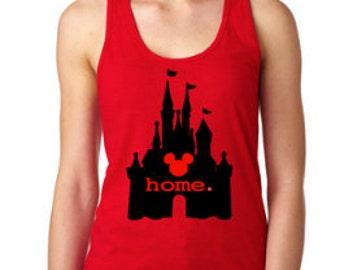 Disney Shirts // Castle Shirt // Cinderella Castle // Disney Home Shirt // Disney shirts for women