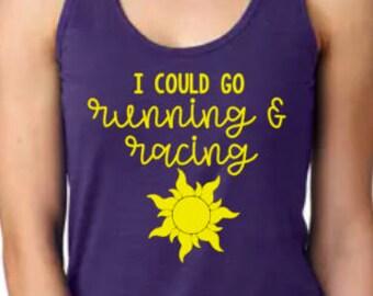 Disney Shirts // Rapunzel Half Marathon Run Disney // Princess Run // Disney 5k // Disney 10k // Disney shirts for women