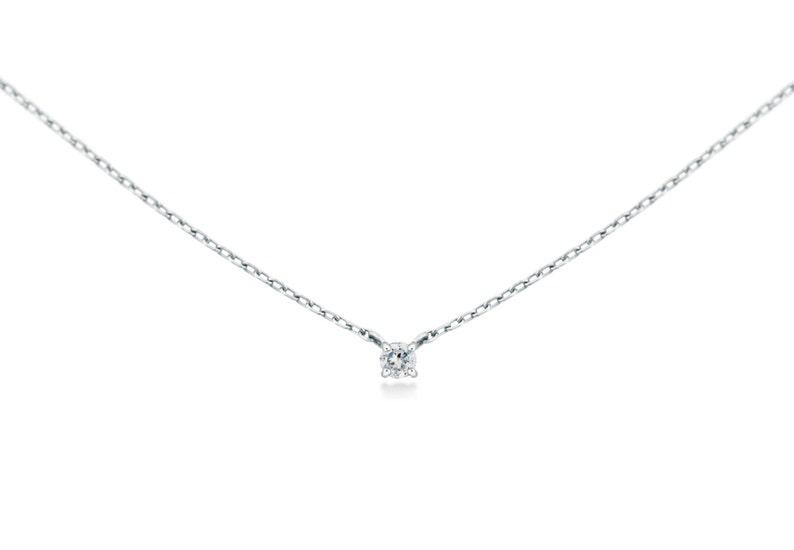 0c3f36329d122 Diamond Set / Jewelry Set / Bridesmaid Jewelry Set / Birthstone Set /  Diamond Necklace Earring Set / 14K Solid Gold / Natural Diamond Set