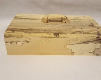 Wood Box, Spalted Tamarind