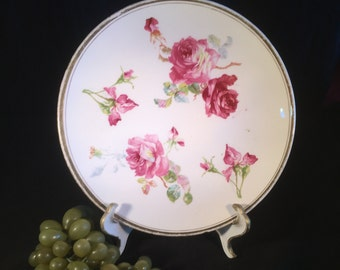H031 Sevres hand painted platter