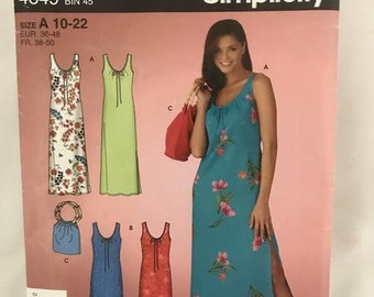 0151 Simplicity 4649 sewing pattern