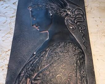 St. Cecilia Facsimile plaster plaque
