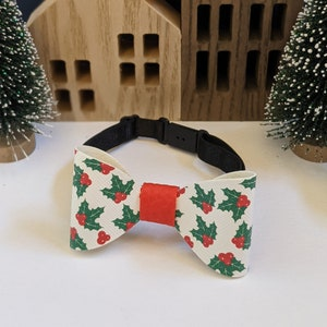 Christmas cookies kids handmade faux leather bow tie