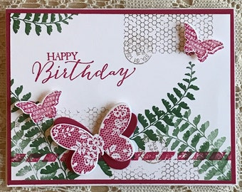 Butterfly Card - Happy Birthday