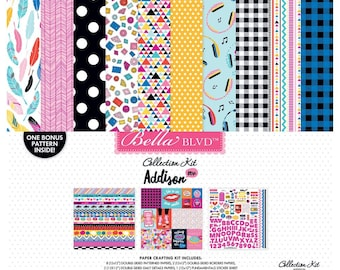 Addison - 12 x 12 Paper Collection Kit