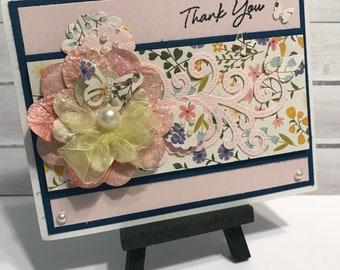Thank You - Handmade Card