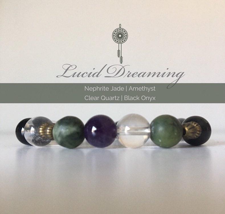Lucid Dreaming Bracelet | Nephrite Jade Bracelet | Dreams Bracelet