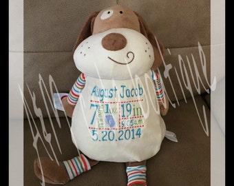 Personalized dog stuffed animal