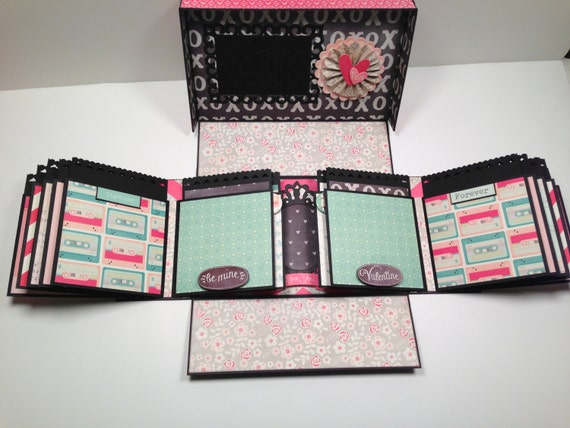 Boxed Gatefold Mini Album Pattern With Video Tutorial Etsy