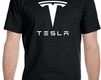 Tesla Motors Car Auto Electric Automobile Parts T Shirt