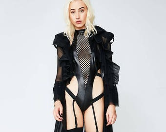 Valentines Lingerie Sexy Costume - Womens Costume Outfit Robe