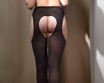 Erotic Lingerie Pantyhose See Through Lingerie Pantyhose