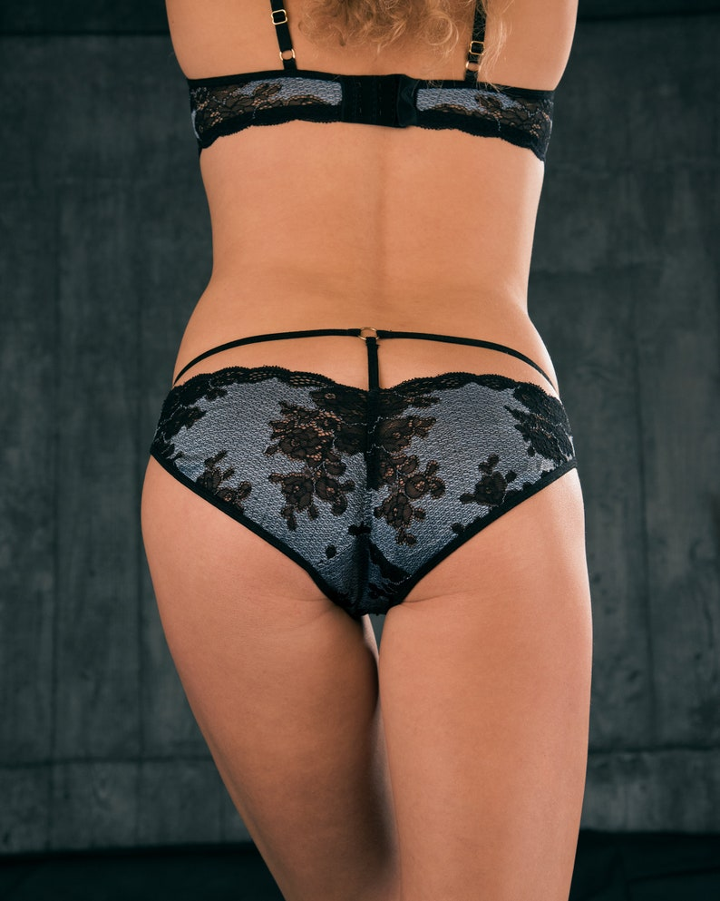 Sheer Panties  See Through Panties   Lace Panties image 0