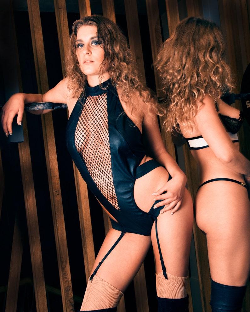 Harness Lingerie Erotic Lingerie Bodysuit image 0