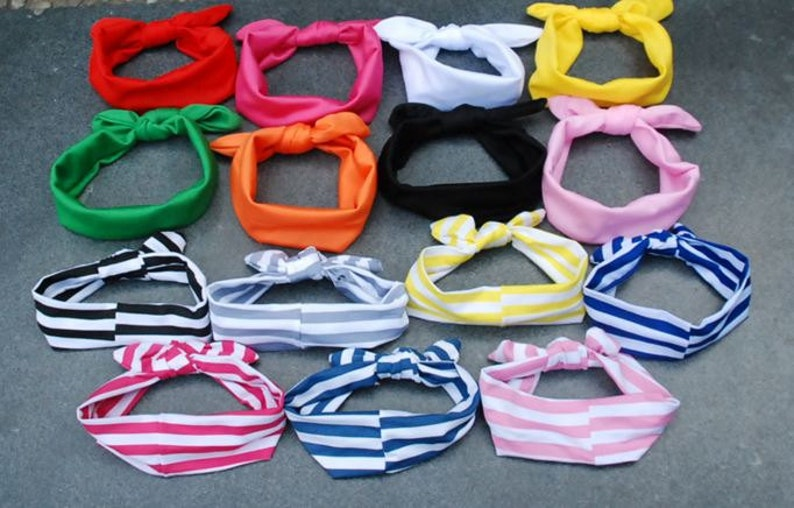 Baby Toddler Child Head Band  Hair Bow  Kid  Stocking image 0