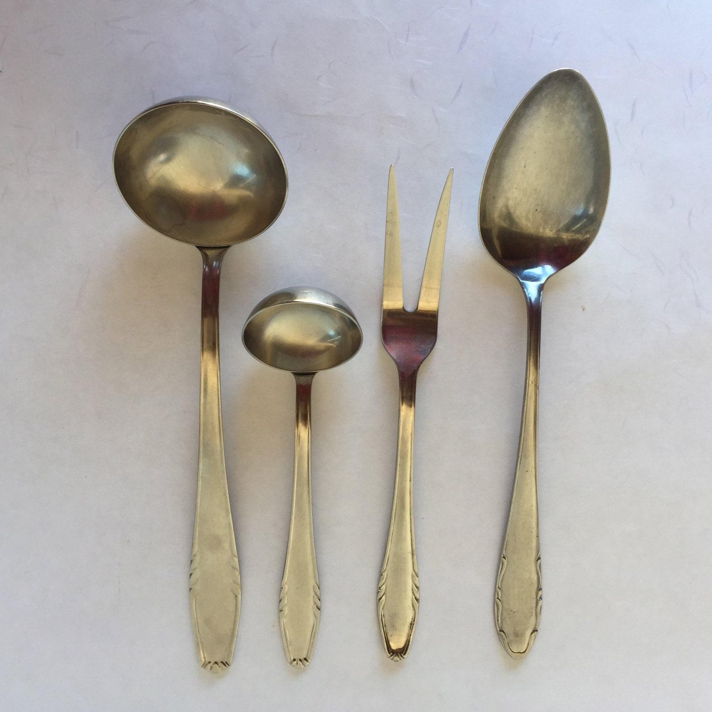 Rostfrei Kupfer Küchenutensilien Kellen Löffel Gabel | Etsy